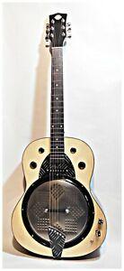 Resobelle© Natural Blues Dobro custom guitar resophonic  by Robert Matteacci