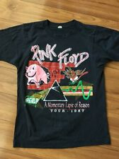 vintage PINK FLOYD 1987 MOMENTARY LAPSE OF REASON CONCERT TOUR 80s t-shirt M