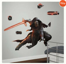 STAR WARS VII THE FORCE AWAKENS KYLO REN wall stickers 13 decal MURAL glow saber