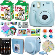 FujiFilm Instax Mini 8 Camera BLUE + Accessories KIT for Fujifilm Instax Mini 8