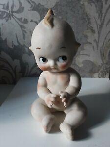Lefton China Bisque Kewpie Doll Baby.