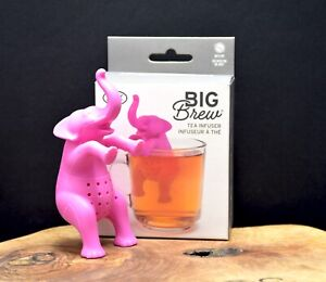 Elephant Big Brew Tea Infuser by Fred Pink