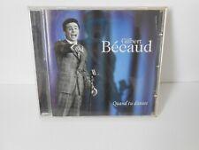 """Gilbert Béaud  album cd """"quand tu danses""""  comme neuf"""