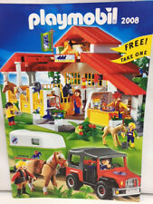 NEW Playmobil 2008 German TOYS USA FULL Color CATALOG Includes add ons mini