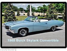 1968 Buick Skylark Convertible Refrigerator / Tool Box Magnet  Man Cave Garage
