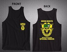 NEW SPECIAL FORCES GROUP AIRBORNE MILITARY TANK TOP S-2XL