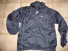 blouson pluie coupe vent capuche ol olympique lyonnais taille XL largeur 63 cm