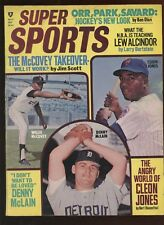 May 1970 Super Sports With Willie McCovey Front Cover VGEX
