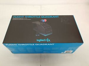 Logitech G Pro Flight Throttle Quadrant NEW FLIGHT SIM