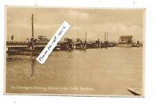SOUTH BENFLEET Bridge to Canvey Island Postcard Essex Early