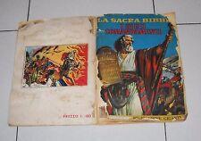 Album La Sacra Bibbia I DIECI COMANDAMENTI Lampo 1964 Prima edizione figurine