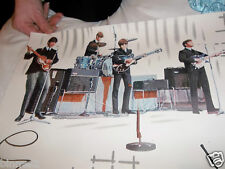THE BEATLES OFFICIAL WALLPAPER GENUINE ORIGINAL ITEM  FROM 1964 ACE CONDITION