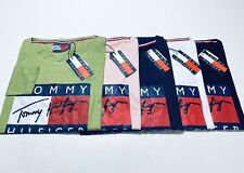 Tommy Hilfiger Womens Organic Cotton Long Sleeve T-Shirt 5 Colour Available
