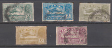 SUPERBE INDE ANGLAISE INDIA POSTAGE SERIE PA  AVIONS AIR MAIL  2 ANNAS / 8 ANNAS