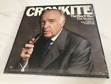 """Factory Sealed"" CRONKITE ""The Way it Was - The 60s"" 1983 3LP set, CBS F3M 38858"