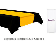 Coco&Bo 1 x Magical Wizarding Gold & Black Party Tablecover Harry Potter Theme