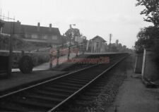 PHOTO  GWR FURZE PLATT RAILWAY STATION VIEW OF THE SMALL STATION IN THE 1960'S