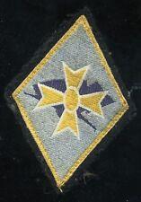 insigne  tissus  1 er DB      (7,5 X 5 CM)
