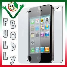 Pellicola trasparente full body fronte retro triplo strato per Apple iPhone 4 4S