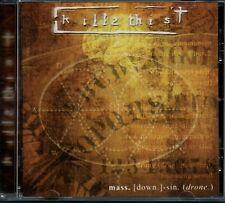 KILL 2 THIS - Mass (Down) Sin (Drone) - CD Album *FREE UK P&P*