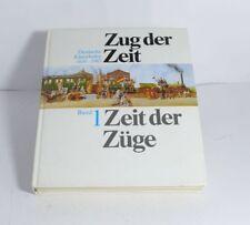 Libro Tren el Tiempo - Tiempo el Trenes Alemán Tren 1835-1985 Band 1