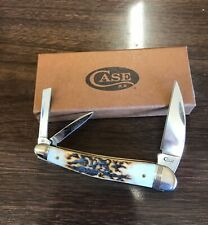 Case XX V5355WH Seahorse Whitler  knife, 2017, Vintage Stag handles, 52952