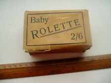 BABY ROLETTE POCKET ROULETTE GAME 1960s