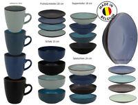 ELIN Aus Keramik Rustikalers Design Speiseteller Salatschale 4-tlg.Set Geschirr
