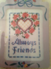 Vintage Designs For The Needle Lois Thompson Always Friends Cross Stitch Kit