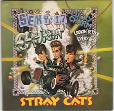 The Stray Cats Four Songs On Two Discs With Gatefold Picture Sleeve 1983 NM Cond