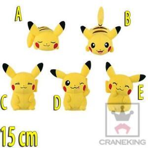Soft Toy Pikachu 15 CM Pokemon Go Videogame Anime Keyring #2