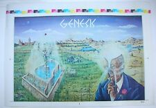 GENESIS Old Man Armando Gallo US Promo Unfolded Printer Proof Poster RARE VG++
