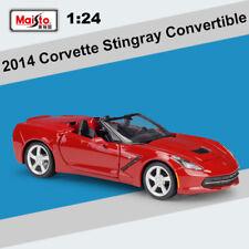 1:24 Chevrolet 2014 Corvette Stingray Convertible Diecast Model Car Toy for Kid