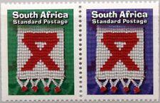 RSA SÜDAFRIKA SOUTH AFRICA 1999 1194-95 Warnung AIDS SPID Medizin Medicine MNH