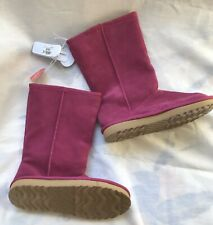 New Children/'s Place Toddler Girls Kitty Chalet Winter Boots Shoes SZ 9 White