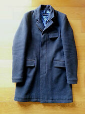 Aquarama cappotto lana uomo capospalla giaccone 48 made in italy coat mens wool