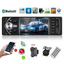 4.1'' Single 1DIN Car Stereo  Radio FM Radio  Bluetooth USB AUX MP3 MP5 + Camera