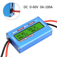 Digital LCD Monitor 60V/100A Watt Meter DC Ammeter RC Battery Power Amp Analyzer