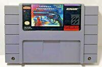 Lethal Enforcers Super Nintendo SNES Cartridge Video Game RETRO VINTAGE RARE