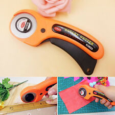 45mm Rotary Cutter Quilters Sewing Quilting Fabric Cutting Craft Tool NEW 6SS U