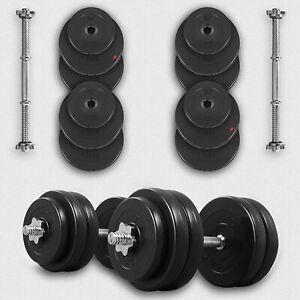 We R Sports® 20KG 30KG 40KG 50kg Dumbbell Set Vinyl Gym Free Weights Biceps Gym