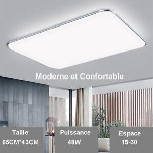 Moderne Plafonnier Led Suspension Dimmable Réglable Luminaire +Télécommande