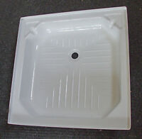"Caravan/Motorhome/Boat Shower Tray WHITE 685mm x 685mm (27"" x 27"")  SHT2727WH"