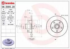 Brake Disc A.B.S. 08.5005.20