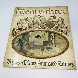 Disney D23 Magazine Special Issue Snow White Cover 2012 Spring Animated Features