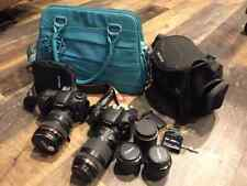 DSLR Canon 7D and Canon T2i with Lenses