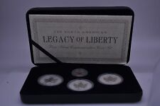 2005 North American Legacy of Liberty Pure Silver Commemorative Coin Set