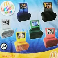McDonalds Happy Meal Toy 2011 UK Digital Music Players Toys - Various Artists