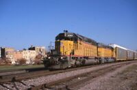 UNION PACIFIC Railroad Locomotive UP 3061 Original 1999 Photo Slide