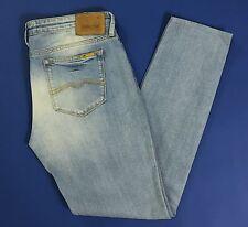 Meltin pot mika W32 tg 46 jeans donna gamba stretta skinny slim usato blue T1246